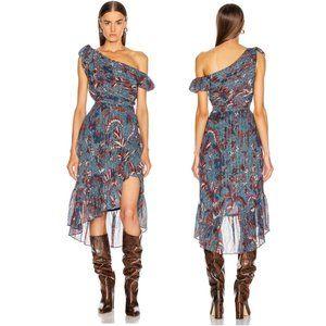 Ulla Johnson Uma Dress in Azul Size 8 NWT